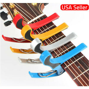 Guitare-Capo-Acoustic-Electric-Trigger-Changement-Rapide-Cle-pince-US