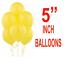 """Al por mayor 5/"""" pulgadas Pequeño Redondo Látex Globos De Mejor Calidad Color estándar Ballon"""