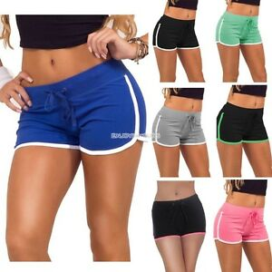 Women-Sports-Shorts-Cotton-Workout-Running-Gym-Fitness-Yoga-Short-Pants-Trousers