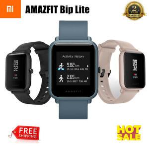 XIAOMI-amazfit-Bip-Lite-Reloj-inteligente-resistente-al-agua-Monitor-de-Ritmo-Cardiaco-Pulsera