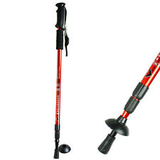 Anti-shock Walking Hiking Stick 3 Section Retractable Adjustable Trekking Stick