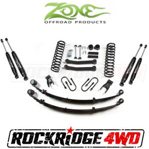"Zone 3/"" Rear Leaf Lift Spring Kit w//Chrysler 8.25 for 1984-01 Jeep Cherokee XJ"