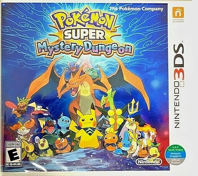 Pokemon Super Mystery Dungeon - Nintendo 3DS (World Edition)