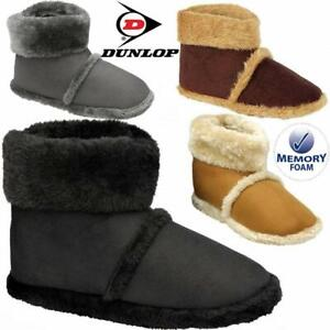 MENS-SLIPPERS-NEW-ANKLE-FLEECE-WARM-LINED-NORDIC-WINTER-FUR-BOOTS-SHOES-SIZE