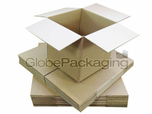 "300 x MAILING GIFT POSTAL S//W CARDBOARD BOXES 7x5x5/"""