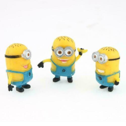12 Set Despicable Me 2 Minions Movie Character Animation Figures Doll Toys Gifts
