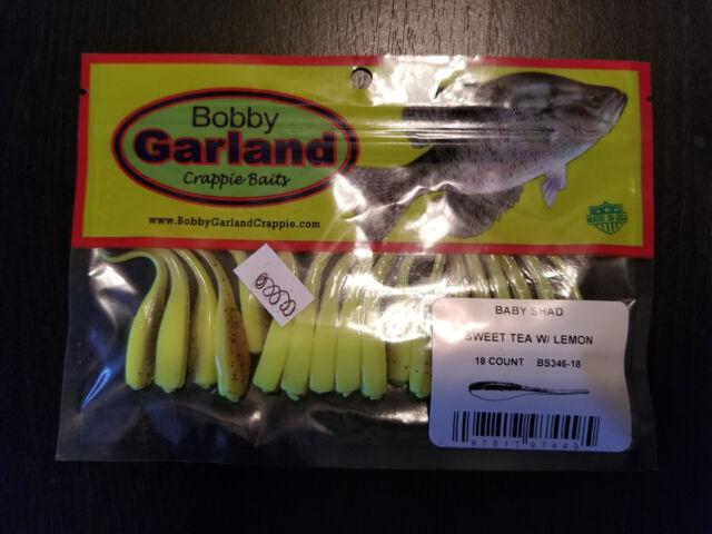 "Bobby Garland 2/"" Baby Shad BS222 Opening Night 54ct"