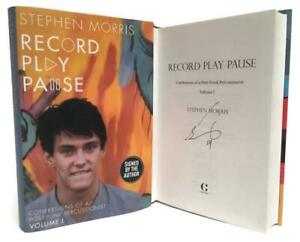 Signed-Book-Record-Play-Pause-by-Stephen-Morris-New-Order-Joy-Division