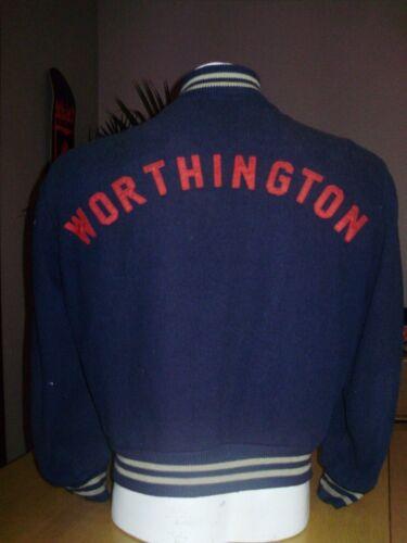 VINTAGE 1940's WORTHINGTON HIGH SCHOOL VARSITY JAC