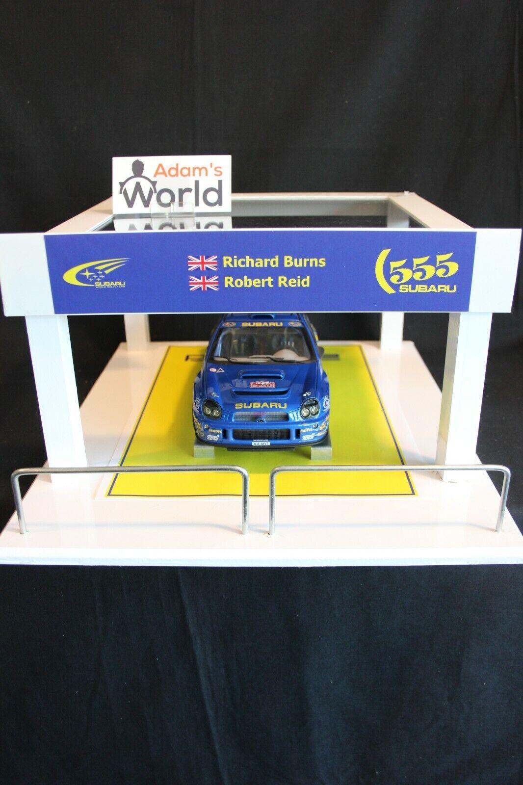 QSP Diorama 1 18 Prodrive Subaru World World World Rally Team Service Tent 71d