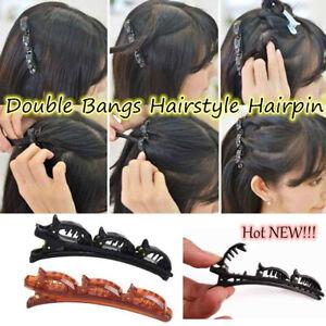 Women Double Bangs Hairstyle Hairpin 2020