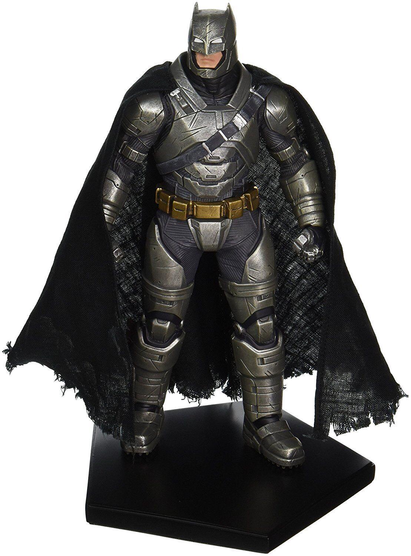 DC Comics Batman Vs súperman amanecer de la justicia Armorojo Batman estatua Iron Studios