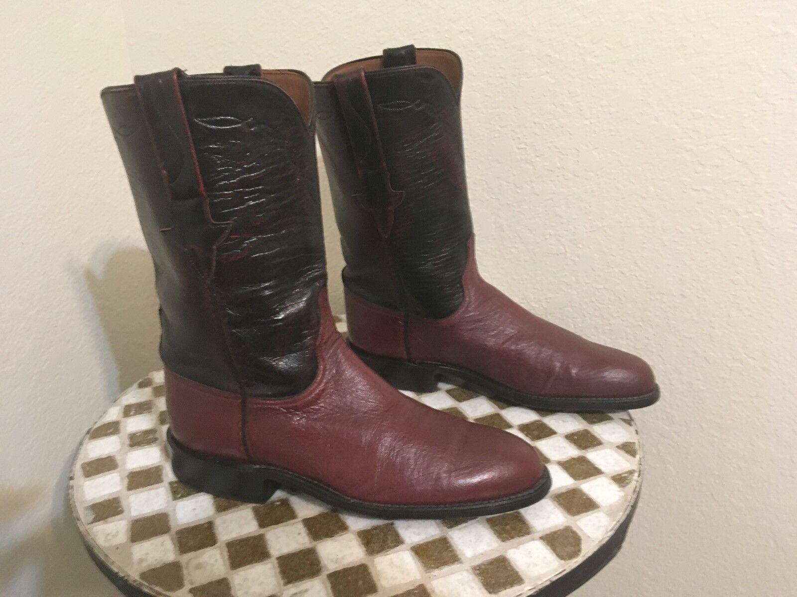 Lucchese byrundy botas USA envejecido Rancho botas de trabajo trabajo trabajo 8 B  garantizado