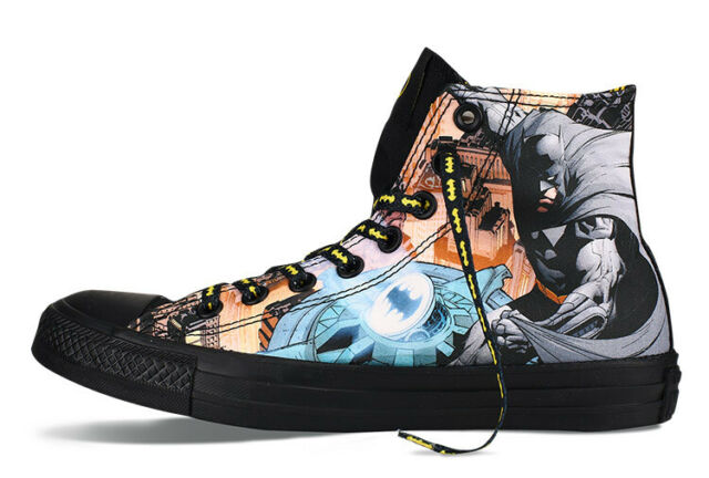 bd4f64f478e0 Converse Chuck Taylor All Star Batman DC Comic Black Men Shoes Plimsolls  150505c 5