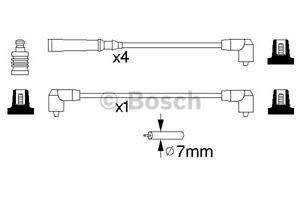 0986356847-Bosch-HT-Cables-De-Encendido-Conjunto-de-Silicona-B847-Nuevo-Bujia-conduce