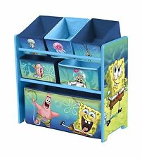 Delta Children Multi Bin Toy Organizer Nickelodeon SpongeBob Sq... Free  Shipping