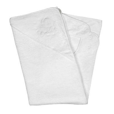 Considerate Clevamama Apron Baby Bath Towel With Hood Be Novel In Design cotton, White Splash N' Wrap