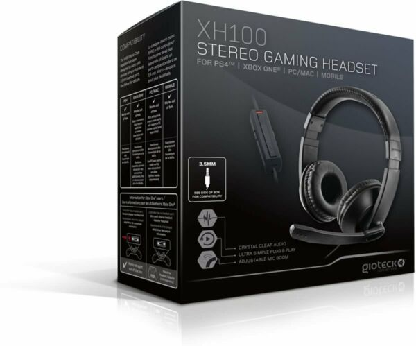 Gioteck Xh100 Wired Stereo Gaming Headset for Ps4 Xbox One PC for sale  online | eBay