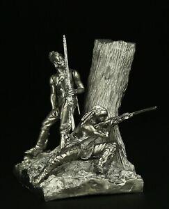 Old-West-Bushy-run-KIT-Tin-toy-soldier-54-mm-metal
