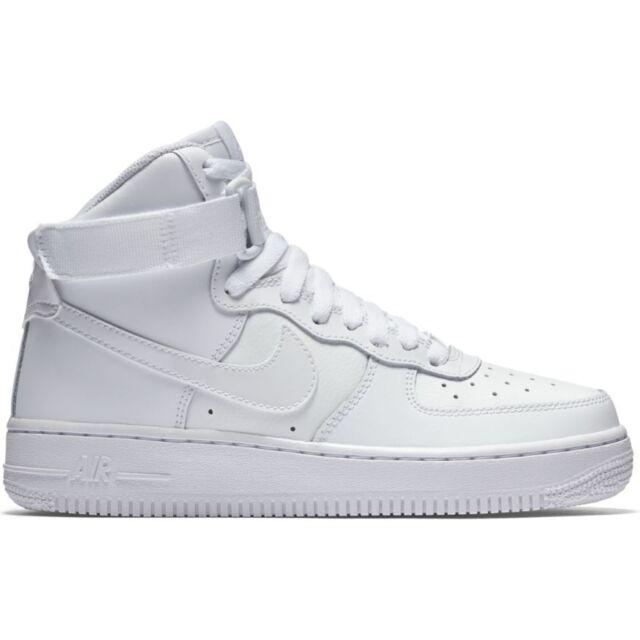 Nike Air Force 1 High iD Women's Shoe Size 6 (Yellow) | Kids