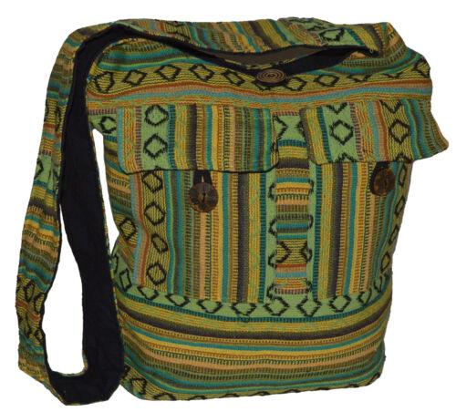 Indische Tasche Umhängetasche Schultertasche Beuteltasche Freizeittasche Hippie