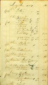 Ledger-Sheet-Page-Tobacco-Tools-Oswego-NY-Erie-Canal-Mercantile-Store-5-1839