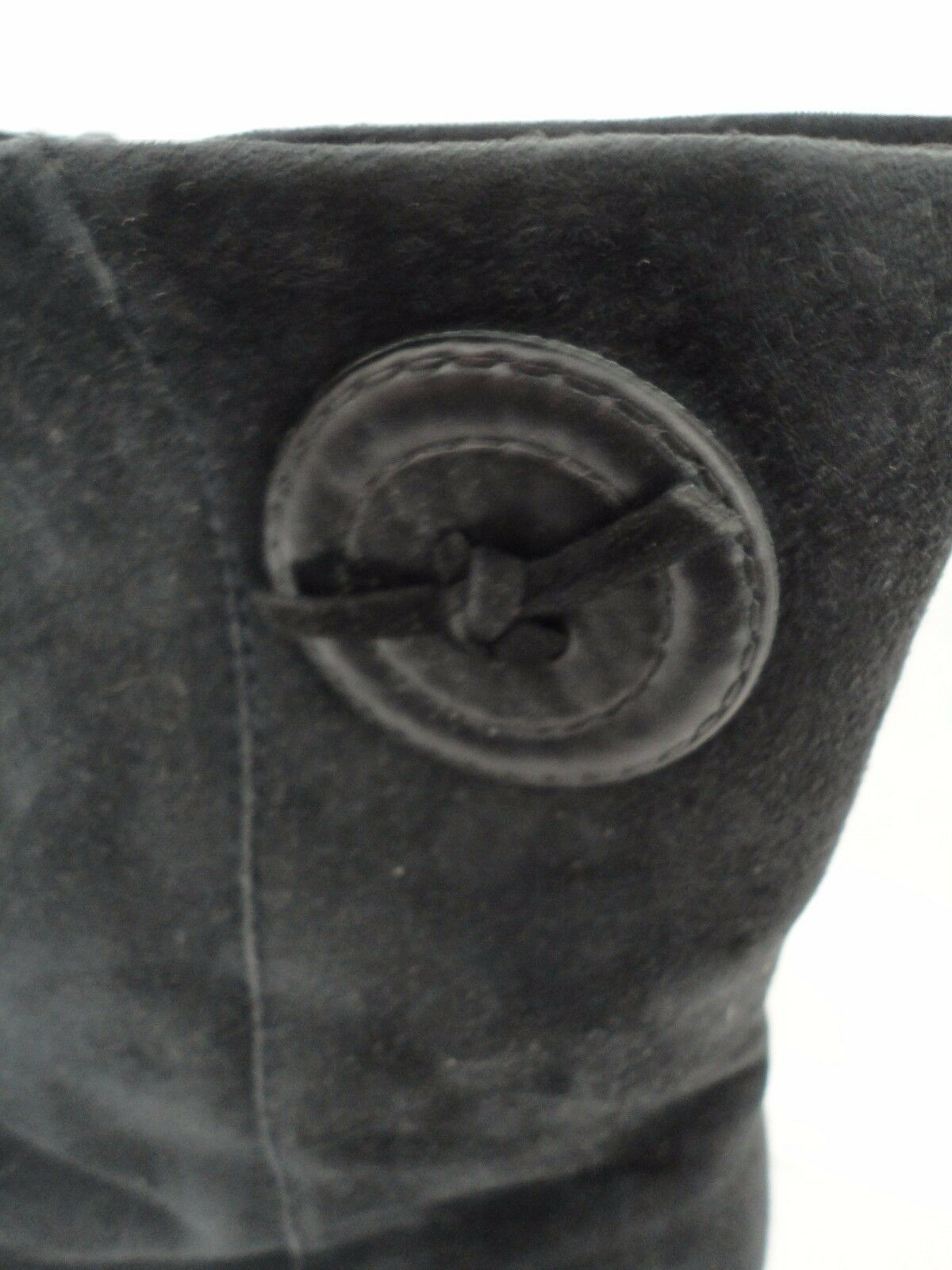 LADIES BLACK LEATHER & SUEDE ANKLE BOOT BOOT ANKLE BY PETER KAISER SIZE 38,5 UK 5.5 US 7.5 70940d