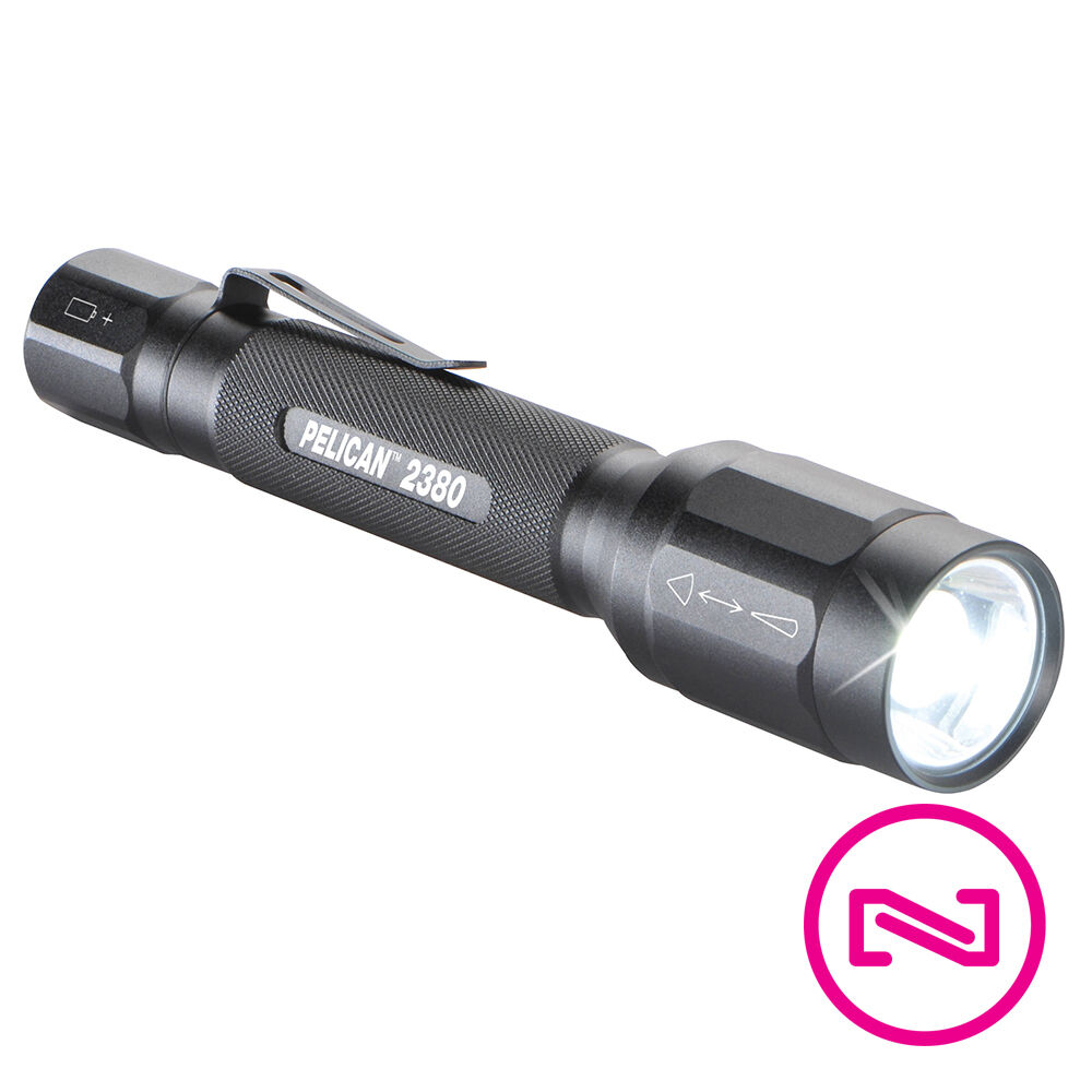 Pelican High Performance LED Flashlight 159 Lumens - 2380 - BATTERIES INCLUDED