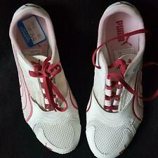item 4 Puma Sneakers Saloh WNs Womens Sneaker White Red Lace-up Shoes Size  6M -Puma Sneakers Saloh WNs Womens Sneaker White Red Lace-up Shoes Size 6M e8a779c46