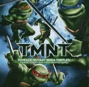 Teenage-Mutant-tartarughe-ninja-cd-colonna-sonora-OST-Merce-Nuova