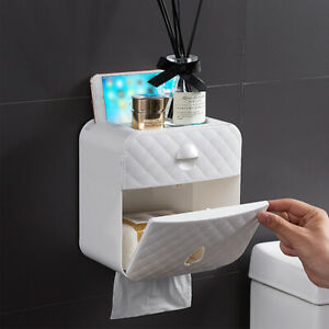 Toilettenpapierhalter Papierhalter Box Klopapierhalter Feuchttücher Ohne Bohren