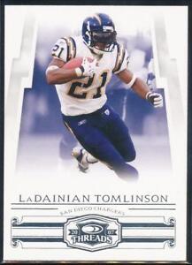 2007-Donruss-Threads-Football-Card-41-LaDainian-Tomlinson