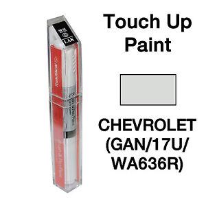 Details about Chevrolet DAEWOO OEM Brush&Pen Touch Up Paint Color Code :  GAN / 17U / WA636R