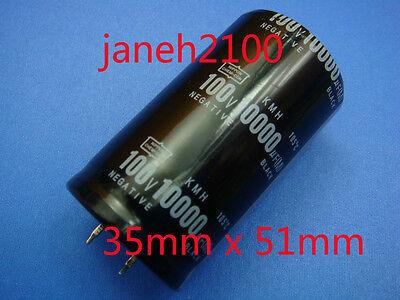 100V 10000UF Snap-in Aluminium Electrolytic Capacitor 35*60.5 MM