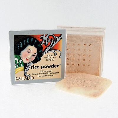 1 box Palladio Rice Powder(Translucent) Oil Absorbing Loose Powder