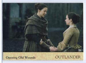 Outlander-Season-2-2017-RAINBOW-FOIL-BASE-Card-42-OPENING-OLD-WOUNDS