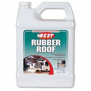 B E S T 55128 Rubber Roof Cleaner And Protectant 128 Fl