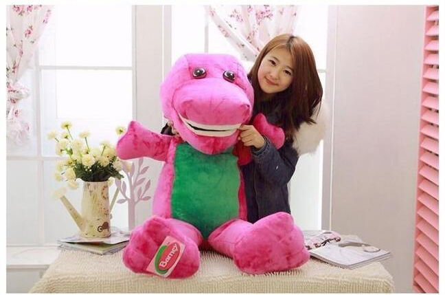 Baby Soft Plush Dinosaur The Barney Big Gaint 90cm Toy New