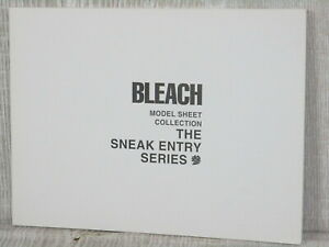 BLEACH-Model-Sheet-Collection-SNEAK-ENTRY-3-Art-Design-Book-TITE-KUBO-2005-Ltd