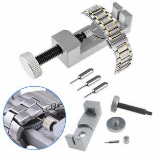 Metall-Uhr-Band-Armband-Glieder-Uhrstift-Entferner-Reparatur-Werkzeug-Abbau-Neu