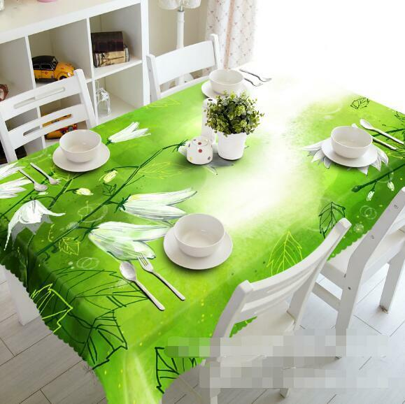 3D Plants 412 Tablecloth Table Cover Cloth Birthday Party Event AJ WALLPAPER AU