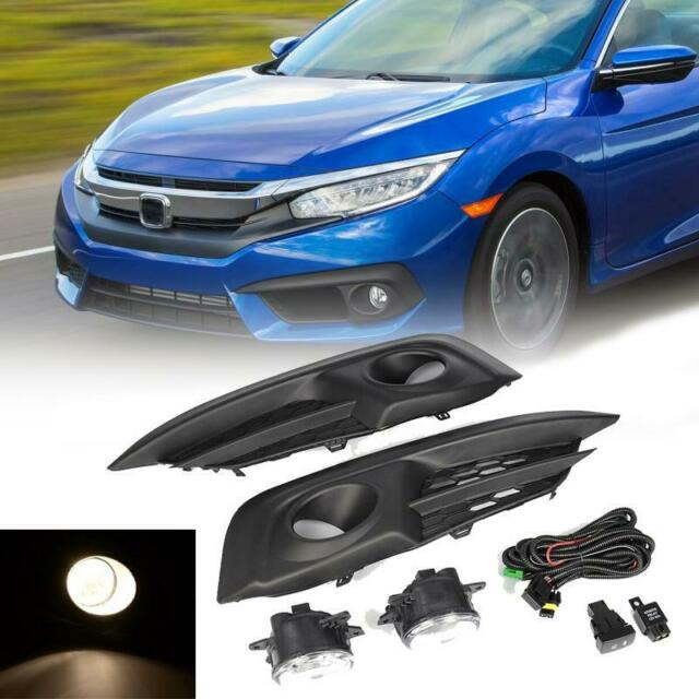 Fog Driving Light Kit Set For 2016