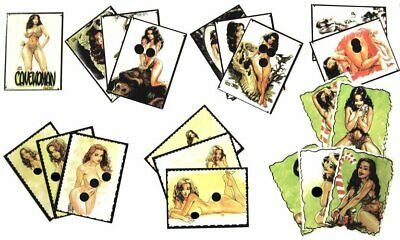 CAVEWOMAN NUMBERED CARD SET #1 Reproducing BUDD ROOT Artwork in a 20 CARD SET