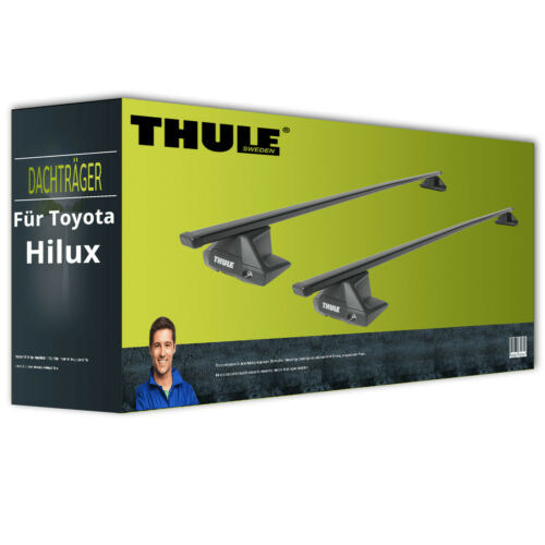 Thule SquareBar Stahl Dachträger für Toyota Hilux Typ N1 NEU FPA komplett