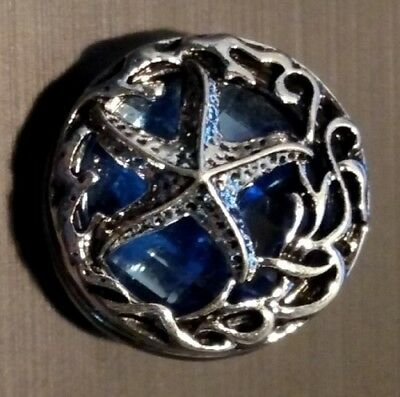 Fits Ginger Snap Sea Life Starfish Ginger Snaps Magnolia Vine Jewelry 18mm Charm