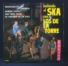 """7"""" LOS DE la TORRE - bailando el ska con, marionetas en la cuerda / senor lopez"""