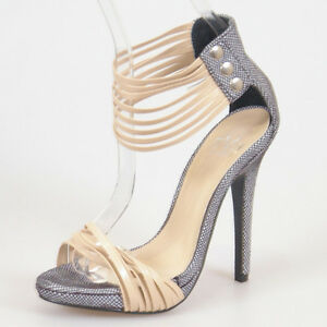 WOMAN-SHOES-DESIGNER-BEIGE-NUDE-ANKLE-STRAPS-STILETTO-SANDAL-HEELS