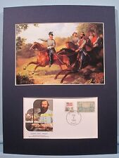 Jeb Stuart and his staff & Commemorative envelope