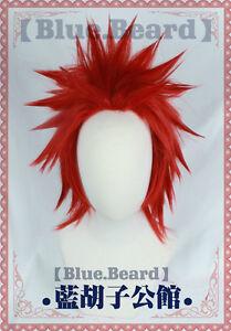 My Boku no Hero Academia Eijirou Kirishima Costume Cosplay Wig (Need styled)+Cap