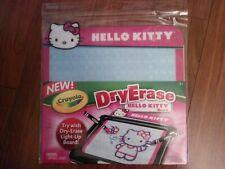 Sanrio Hello Kitty Dry Erase Board With Pen 54097 New!!!